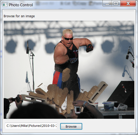 Creating a Simple Photo Viewer with wxPython - The Mouse Vs  The Python
