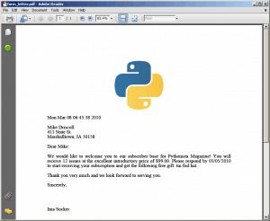 The Mouse Vs  The Python » Python PDF Series