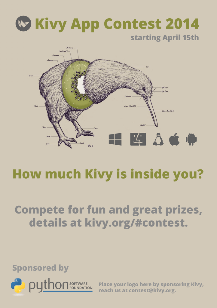 Kivy App Contest 2014 - The Mouse Vs  The Python