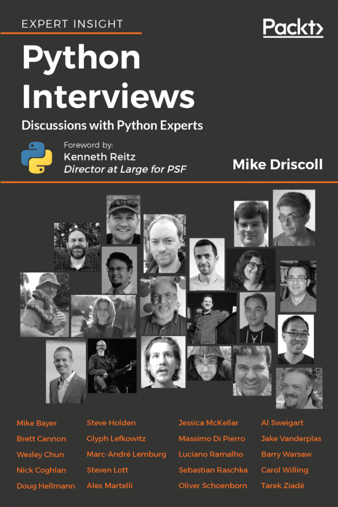 Python Interviews book cover