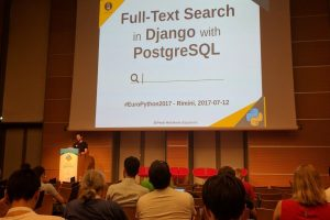 Giving a talk at EuroPython 2017