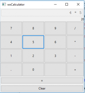 Creating a Calculator With wxPython