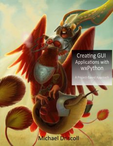 Cover art for Creating GUI Applications with wxPython