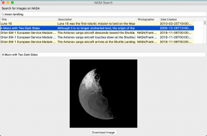 Creating a GUI Application for NASA's API with wxPython | The Mouse Vs. The Python