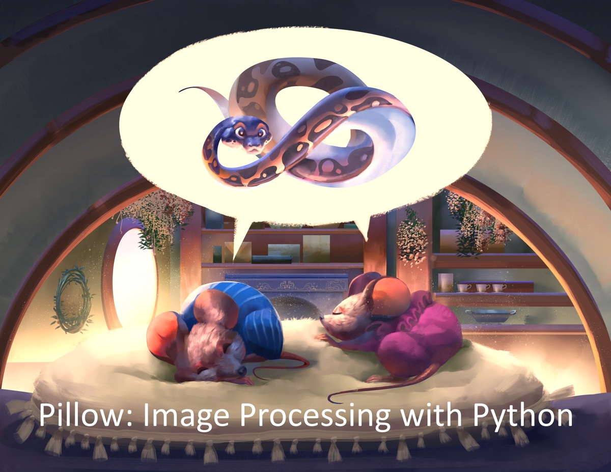Pillow: Image Processing with Python Now Available!