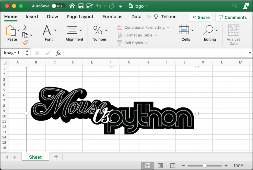 Inserting an Image in an Excel Cell