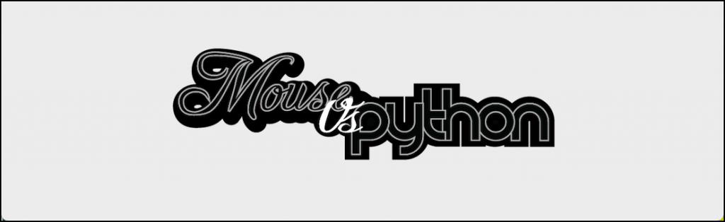 Mouse vs Python Logo