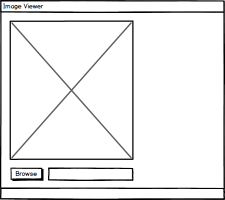 Image Viewer Mockup