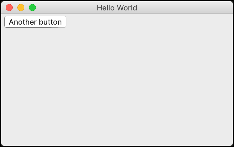 Stacked Buttons in wxPython
