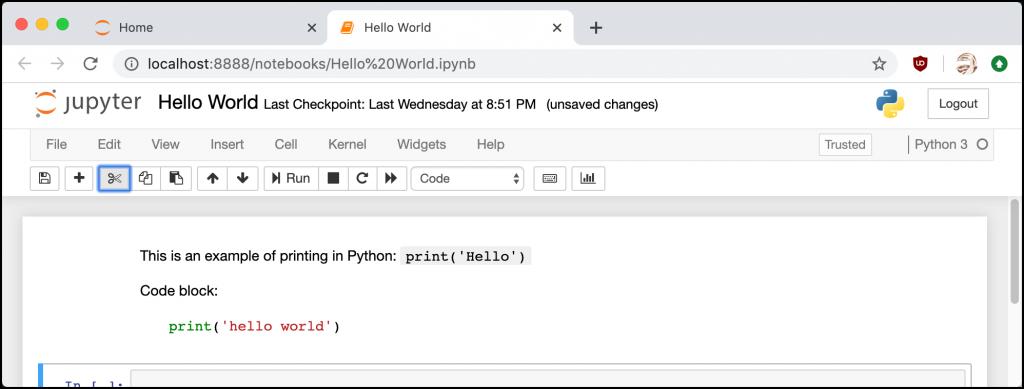 Syntax Highlighting (after run)