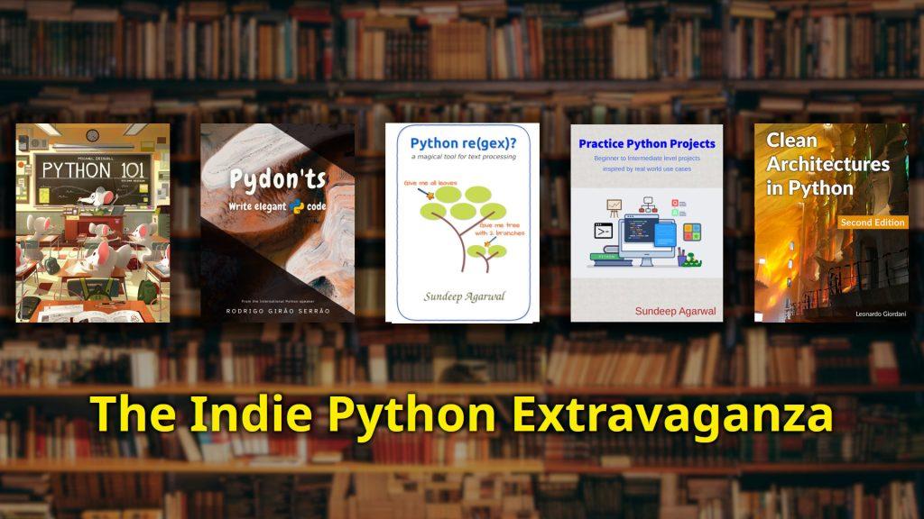 The Indie Python Extravaganza Book Bundle